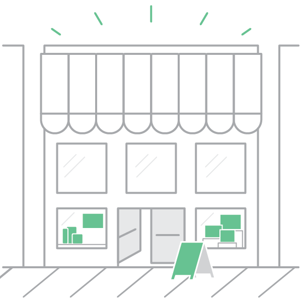 Pay for your popup space securely on Storefront platform